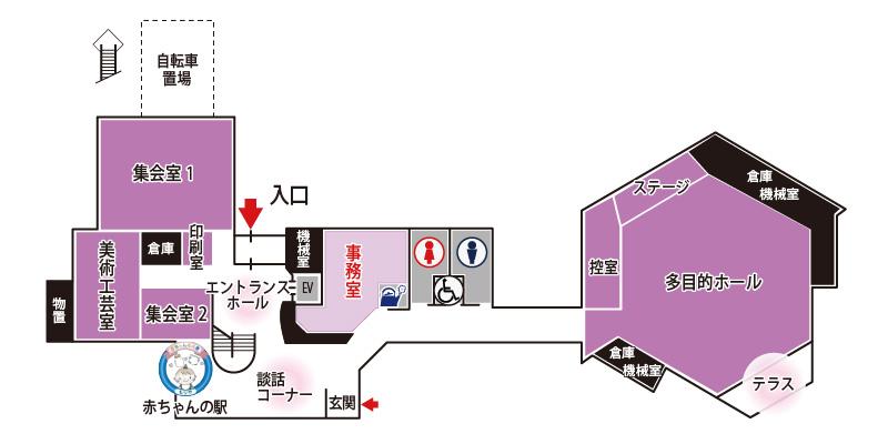 図面 1階